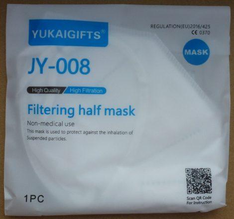 YUKAIGIFTS JY-008 FFP3 EN 149 szájmaszk - 154x112mm - YUKAIGIFTS JY-008 Five Layers Filtering Half Mask FFP3 EN 149