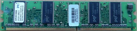 pqi 256MB DDR400 RAM modul 256 MB PC3200 DDR-SDRAM